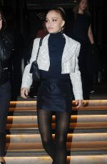 Lily-Rose Depp Leaving the Corinthia Hotel in London