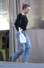Lily-Rose Depp Spotted with her security leaving a L.A grocery store