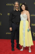 Lisa Edelstein Arrives at the 2019 Creative Arts Emmy Awards - Day 2 held at the Microsoft Theater in Los Angeles
