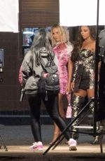 Little Mix Filming an ad for Pretty Little Thing in Paris
