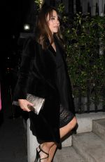 Liz Hurley Enjoying a evening out at Annabel