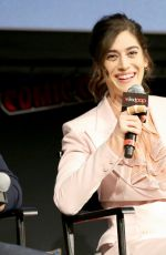 Lizzy Caplan At Hulu Presents Castle Rock Screening + Panel at New York Comic Con
