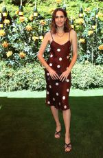 Louise Roe At Veuve Clicquot Polo Classic, Will Rogers State Park, Los Angeles