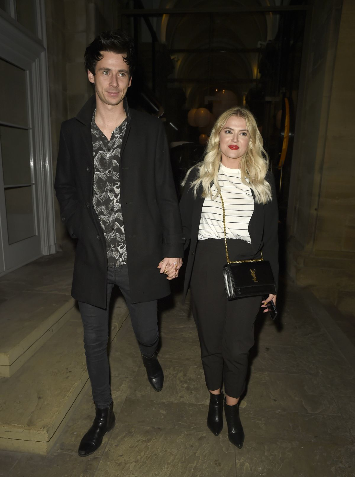 Lucy Fallon And Her Boyfriend Tom Leech Enjoy A Date Night At Peter Street Kitchen Restaurant In Manchester Celebzz Celebzz
