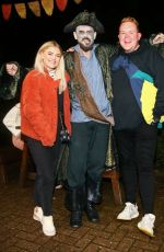Lucy Fallon At Alton Towers Scarefest, Stoke-on-Trent, UK