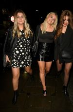 Lucy Fallon Enjoying a girls night out at Impossible in Manchester