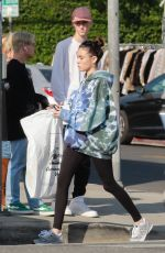 Madison Beer Out shopping At American Vintage clothing store in Los Angeles