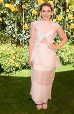 Mae Whitman At Veuve Clicquot Polo Classic at Will Rogers State Park in LA