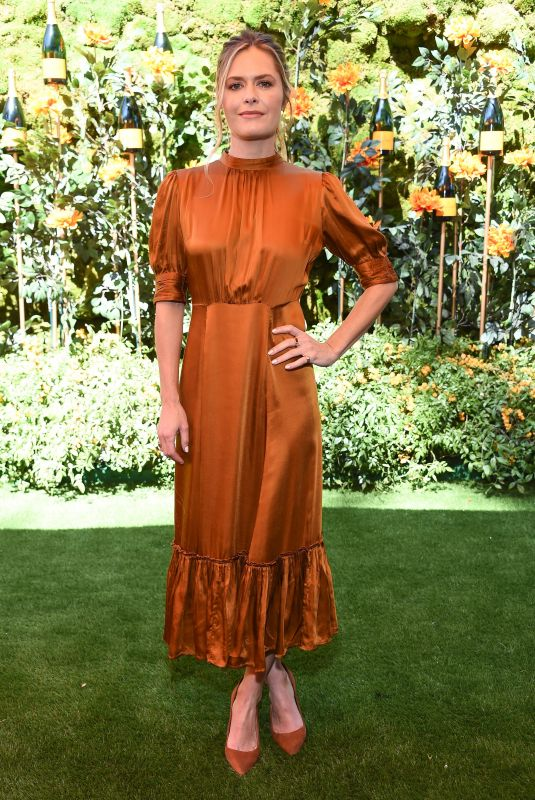 Maggie Lawson At Veuve Clicquot Polo Classic, Will Rogers State Park, Los Angeles