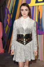 Maisie Williams At Louis Vuitton Maison store launch party in London