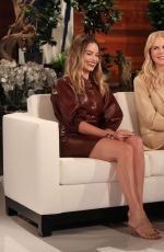 Margot Robbie At The Ellen Degeneres show