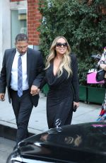 Mariah Carey Seen leaving Mr Chow restaurant after lunch in Beverly Hills