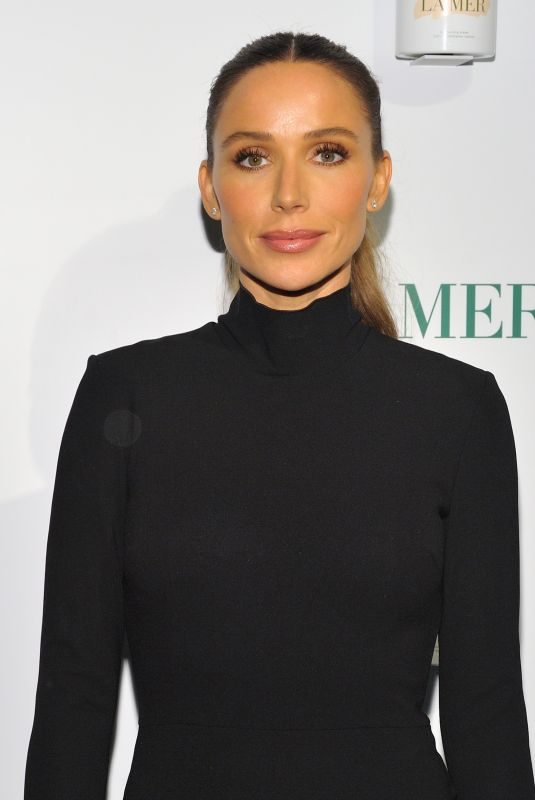 Mary Phillips Attends the La Mer by Sorrenti campaign event at Studio 525 in New York