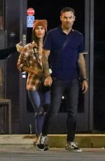 Megan Fox Leaving SUGARFISH in LA