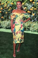 Melanie Liburd At Veuve Clicquot Polo Classic, Will Rogers State Park, Los Angeles