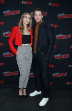 Melissa Roxburgh At Riverdale TV Show Panel New York Comic Con