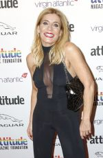 Michelle Collins At Attitude Awards, Roundhouse, London