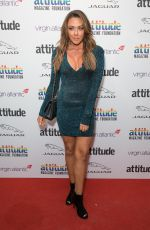 Michelle Heaton Attends the Virgin Atlantic Attitude Awards 2019 powered by Jaguar at The Roundhouse Camden