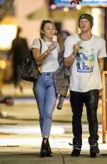 Miley Cyrus & Cody Simpson Go out for a date night in Studio City