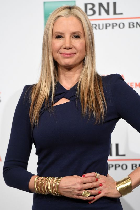 "Mira Sorvino At ""Drowning"" Photocall 14th Rome Film Festival"