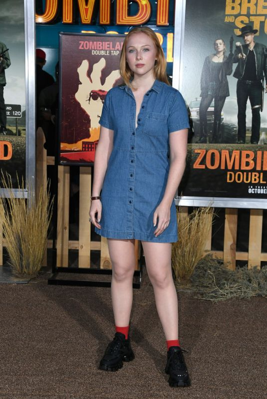 Molly Quinn At Zombieland: Double Tap Premiere in Westwood