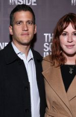 Molly Ringwald At Opening Night for The Sound Inside at Studio 54 in New York