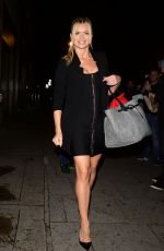 Nadiya Bychkova Attends Strictly - It Takes Two Filming - London