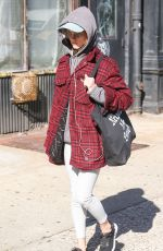 Natalia Dyer Out in New York City