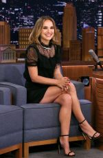 Natalie Portman At The Tonight Show Starring Jimmy Fallon Episode 1131