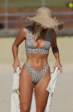 Natasha Oakley In a Bikini on Bondi Beach in Sydney