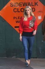Nicky Hilton In a cheetah style while out in New York City