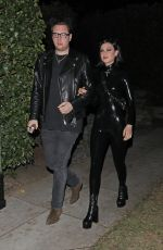 Nicola Peltz and her friend head to the 2019 Casamigos Halloween party in Beverly Hills