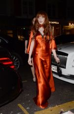 Nicola Roberts Leaving the Chiltern Firehouse in London