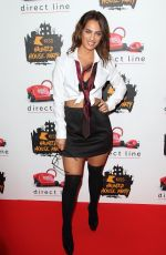 Nicole Bass At the KISS Haunted House Party at the SSE Arena, Wembley in London