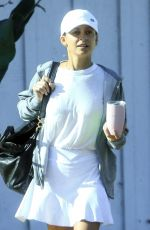 Nicole Richie Out for some tennis at the Brentwood Country Club