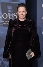 Olivia Colman At Luminous BFI gala dinner and auction, London
