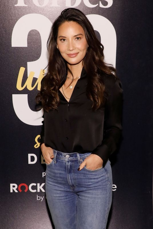 Olivia Munn At Forbes 30 Under 30 Summit in Detroit
