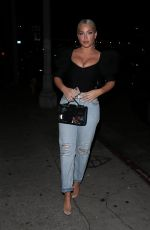 Olivia Pierson Arrives at The Kassi Club in West Hollywood