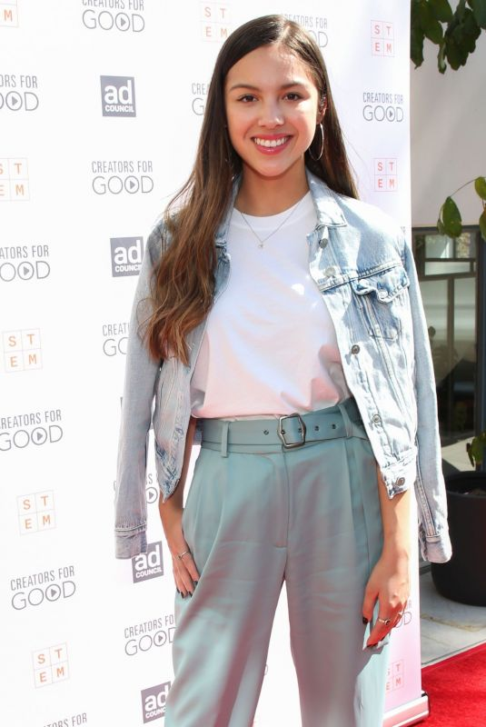 Olivia Rodrigo At Ad Council