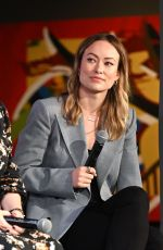Olivia Wilde At Wonder Women: Directors panel at the 22nd SCAD Savannah Film Festival