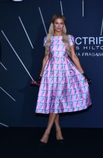 Paris Hilton Poses for photos during the launch of her Electrify perfume at W Hotel in Mexico City