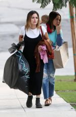 Rachel Bilson Shopping with a friend in Los Angeles