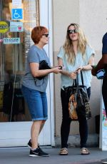 Rachel McAdams and her mother out early evening for some provisions in LA