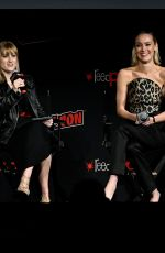 Rachel Skarsten Speaks on stage during Batwoman Pilot Screening and Q&A at New York Comic Con