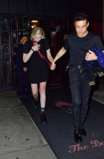 Rami Malek & Lucy Boynton Step out from the Bowery Hotel for dinner in New York City
