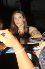Rebecca Ferguson Greets fans at the