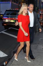 Reese Witherspoon Arriving at Good Morning America Show to promote