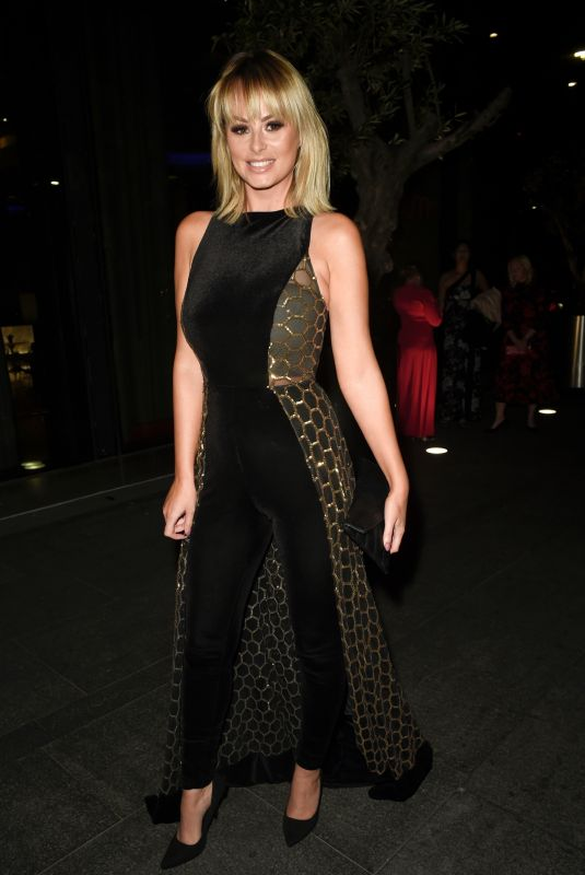 Rhian Sugden Arriving at the Manchester Fashion Festival in Manchester