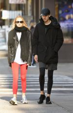 Romee Strijd Out for a stroll in NYC