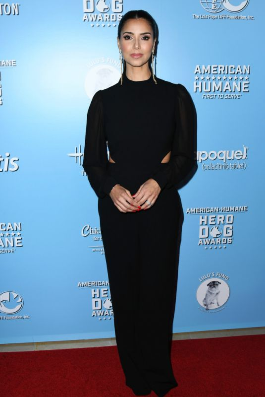 Roselyn Sanchez At 2019 American Humane Hero Dog Awards in Los Angeles